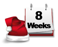 8 week goals - Weeks Until Christmas